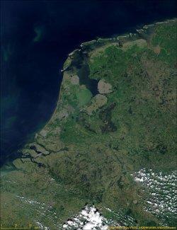 Auswandern Niederlande Karte